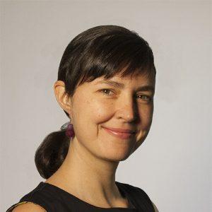 Caroline Ouellette, créatrice verrier de l'atelier de verre Welmo