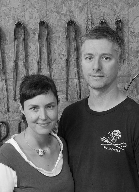 Caroline Ouellette et Patrick Primeau de l'atelier de verre Welmo vont enseigner à ACAD